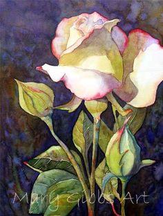 Flowers | Mary Gibbs Art, more wonderful work here.: