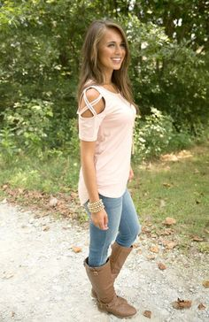 Found My Happy Place Blouse Blush - The Pink Lily Winter Fashion For Teen  Girls 25d50e184