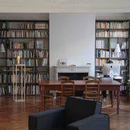 """Bibliothèque industrielle """"tubes carrés"""" : Bibliothèques par La Maison de l'Imaginarium"""