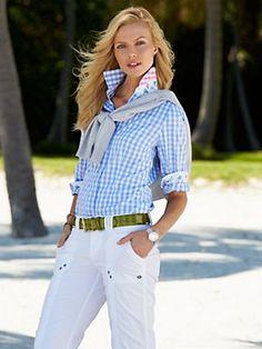 viola check shirt - blouses & tops - women - Categories - Gorsuch
