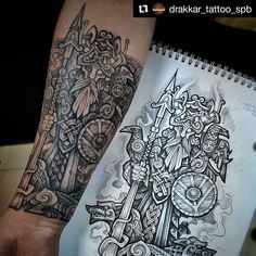 Tattoos From Around The World – Voyage Afield Scottish Tattoos, Irish Tattoos, Celtic Tattoos, Viking Tattoos, Tribal Arm Tattoos, Geometric Tattoos, 3d Tattoos, Tattoos For Guys, Cool Tattoos