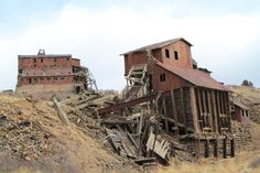 The 13 Strangest Abandoned Places in Colorado.  Been to some of them, but would like to see all of them before I move.