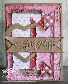 Krafty Love - Bellisima Vida - created w/ the Heartfelt Love Collection from Heartfelt Creations - created w/ the Lush Lilac Collection from Heartfelt Creations -  #HeartfeltCreations #cardmaking #papercraft  #love #Valentine'sDay