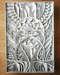 Intricate Laser Cut Wood Relief Sculptures by Gabriel Schama - Kunst aus Metall Wood Laser Ideas, Laser Cut Wood, Laser Cutting, Wood Sculpture, Wall Sculptures, Metal Art, Wood Art, Gabriel, Aluminum Foil Art