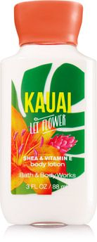 Bath & Body Works Kauai Lei Flower Travel size body lotion