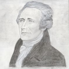 Irvin Goldman Drawing of Alexander Hamilton on Behance Alexander Hamilton, Behance, Drawings, Painting, Art, Painting Art, Sketch, Paintings, Kunst