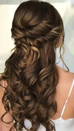 Prom Hairstyles For Long Hair, Homecoming Hairstyles, Up Hairstyles, Hairstyles For Long Hair Wedding, Long Bridal Hair, Long Hair Wedding Styles, Beautiful Hairstyles, Pictures Of Hairstyles, Sweet 15 Hairstyles