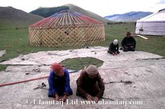 A brief history of felt making for traditional Mongolian yurts