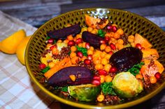 Try this warm salad recipe from MyNutriCounter this winter - it's delicious and super nutritious