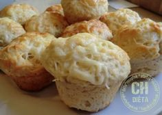 Sajtos muffin Muffin, Cauliflower, Paleo, Healthy Recipes, Bread, Cheese, Vegetables, Cooking, Breakfast