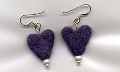 Felted Earrings