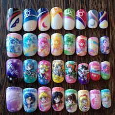 Sailor Moon Nail Sets