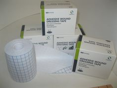 4 Rolls (boxes) of Meson dressing retention tape....fabric, cloth tape,   467