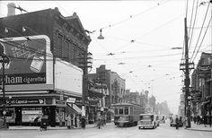 The history of Yonge Street is that of Toronto itself. As the street developed, so too did the city around it. Toronto Street, Toronto City, Canadian Things, Yonge Street, Toronto Ontario Canada, Toronto Photos, Quebec City, Great Photos, Amazing Photos