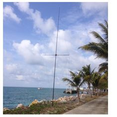 An easy to build antenna for seaside locations and versions were used at DX-pedition in 2016  Some notes Ham Radio Antenna, Wind Turbine, Radio Activity, Seaside, Building, Communication, Army, Language, Wire