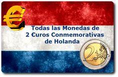 Todas las Monedas de 2 Euros Conmemorativas de Holanda