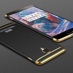 Gkk elettrolitico 3 in 1 telefono case per oneplus 3 t 3 case A3000 Tre Duro Uno Più 3 Fundas OnePlus3 T Coque Casse Del Telefono copertura