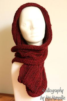 Cozy chunky infinity loop scarf - handknit from beautiful alpaca and cashmere yarn - warm and soft by KnitographyByMumpitz, kr400.00