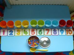 Colourful Counting & Numeral Recognition