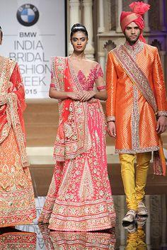 Abu Jani & Sandeep Khosla - BMW India Bridal Fashion Week 2015