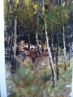 Alvaro Castagnet, trees in Scotland