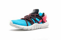 "Nike adds another string to the Huarache NM bow with the ""Lagoon Blue"" iteration for 2015. There's no missing this Lagoon Blue color way."
