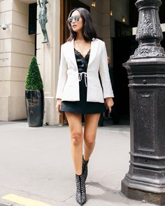 On my way to Diors Haute Couture show wearing @dior by  Shot by @ineffabledaze