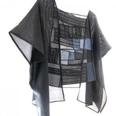 The collection shown here, employs Japanese antique Kimono silk fabrics and is a fusion of ancient and modern, past and present. The designs enlist the natural drape and lines of the fabric to define the female form. Each piece is one-of-a-kind. Many pieces can be worn in multiple ways, from casual to formal.