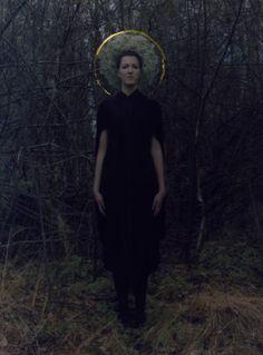 Cunnington & Sanderson 'Hail Mary' dress - Photography by Amira Fritz Dark Fashion, Autumn Fashion, Pale Moon, Jonah And The Whale, Art Photography, Fashion Photography, Earth Goddess, International Festival, Portraits