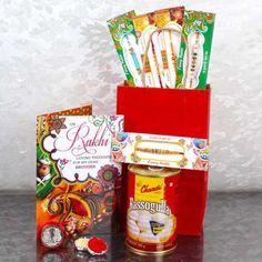 Rakhi Gift Bag of 5 Rakhis and Rasgulla with Laxmi Ganesha Coin Raksha Bandhan Gifts, Rakhi Gifts, Online Greeting Cards, Ganesha, Coins, Fancy, Bags, Handbags, Rooms