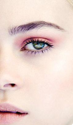 Romantic eye makeup