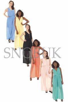 New Womens UK Size Sleeveless Lace Crochet Wide Palazzo Leg Ladies Jumpsuit 8-14