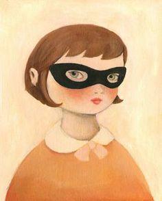 Bandit Girl - Emily Winfield Martin - the black apple