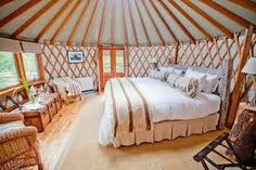 Small Luxury Yurt, Yurt Home, Yurt Living, Bamboo Building, Silo House, Geometric Construction, Diy Tent, Great Buildings And Structures, Round House
