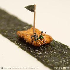 Raft; http://miniature-calendar.com/