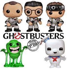 Ghostbusters Pop! Bonecos Funko dos Caça Fantasmas!