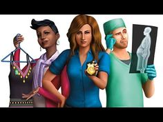 cool The Sims 4 - Get to Work DLC Trailer