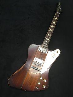 Gibson Custom Shop Johnny Winter Signature 1963 Firebird V Tom Murphy Aged Vintage Sunburst 2008 Music Guitar, Guitar Amp, Cool Guitar, Tom Murphy, Gibson Firebird, Les Paul Jr, Gibson Custom Shop, Gibson Guitars, Beautiful Guitars