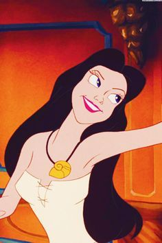 *VANESSA (Ursulsa's human alter ego-reverted back to Ursula the third day + and dies when Prince Eric stabs her.) ~ The Little Mermaid, 1989 Ursula Disney, Old Disney, Disney Love, Disney Magic, Disney Art, Vanessa Little Mermaid, The Little Mermaid, Animation Film, Disney Animation