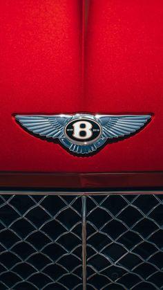 Bentley Logo 2019 Red Background 4K Ultra HD Mobile Wallpaper