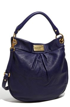 MARC BY MARC JACOBS 'Classic Q - Hillier' Hobo - bright grape. Is it possible for him to make a purse that you don't like? I don't think so
