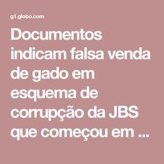 Documentos indicam falsa venda de gado em esquema de corrupção da JBS que começou em MS | Mato Grosso do Sul | G1