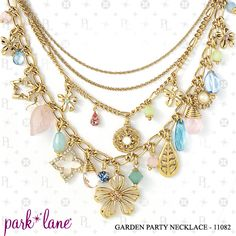 """Garden Party Necklace"""