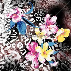 Flowers With Leopar Skins 5