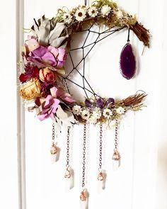 Created By Beadonawireluv Pagan Crafts Witchy Crafts Witchy Decor