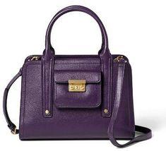 Medium Satchel Handbag - 3.1 Phillip Lim for Target Purple #sponsored #ad #paid   Thank you Target for sponsoring today's post. Trending Handbags, Satchel Handbags, 3.1 Phillip Lim, Target, Medium, Purple, Fashion, Moda, Fashion Styles