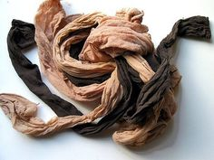 (LL)  Learning 10 Ways to Recycle Your Pantyhose by Treehugger.