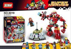 No.8019 Super Heroes Avengers Ultron Minifigures Hulk Buster Building Blocks MiniFigures Bricks Figures Compatible with leg0