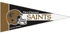 New Orleans Saints Official NFL 4 inch x 9 inch Mini Pennants by Rico Industries Caseys http://www.amazon.com/dp/B008D53VC8/ref=cm_sw_r_pi_dp_SwZLvb1BYJF18