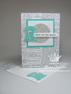 nice people STAMP!: UNDEFINED: Carve your own stamps for unique notecards! Mix Up - Stampin' Up! by Allison Okamitsu